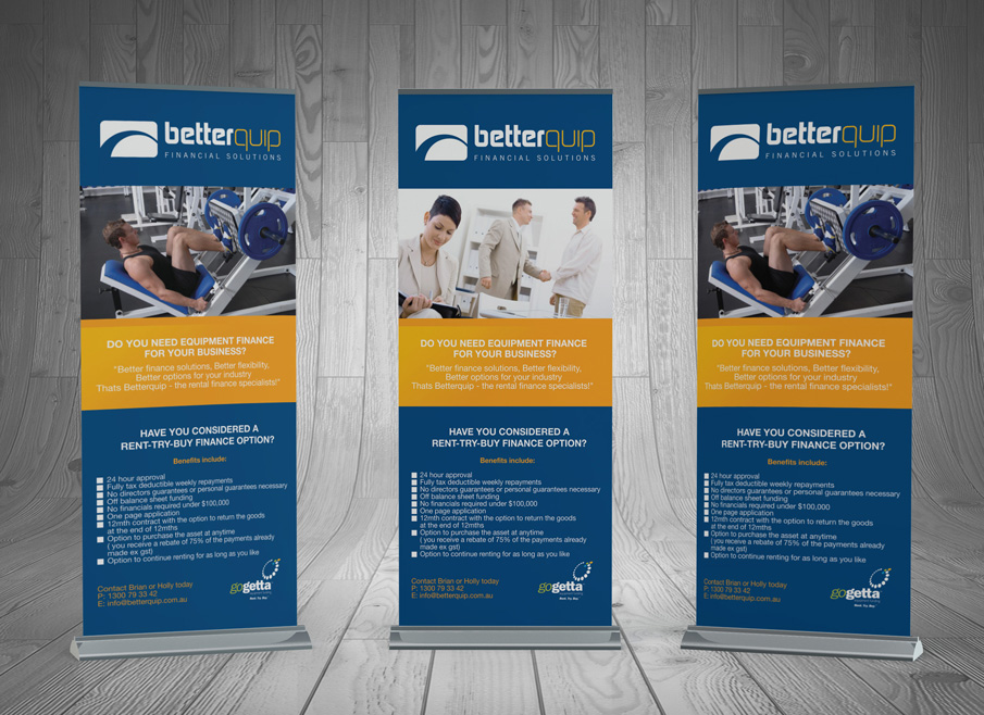 Design And Printing Pullup Banner Gold Coast And Tweed Heads