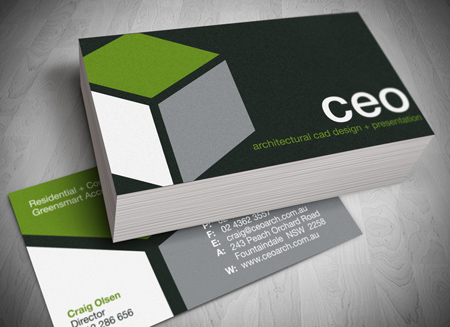 Business Card Design Provided