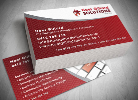 Tweed Heads and Gold Coast Business Card Design