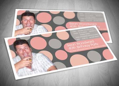Gold Coast Graphic Design – Birthday Invitation Designer