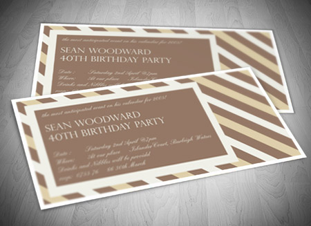 Gold coast graphic design birthday party invitation design and printing gold coast stopboris Gallery