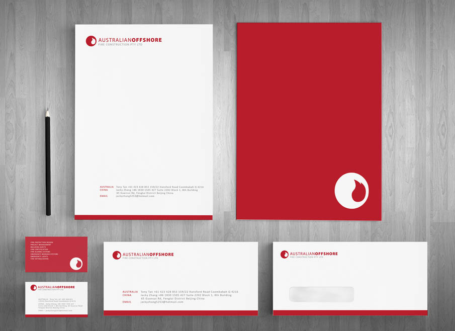 Australian offshore fire construction gold coast logo website and australian offshore fire construction gold coast logo website and letterhead and stationary design thecheapjerseys Images