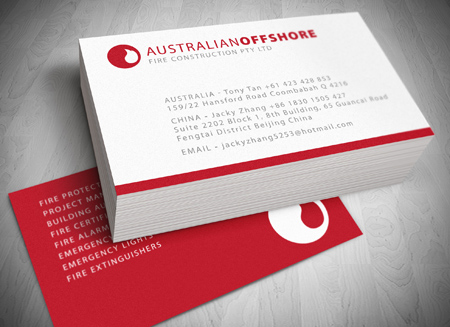 Australian offshore fire construction gold coast logo website and australian offshore fire construction gold coast logo website and letterhead and stationary design reheart Images
