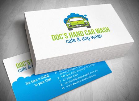 Gold coast logo website and letterhead and stationary design gold coast logo and business card design docs car wash colourmoves