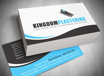 Logo design gold coast business cards design printing gold coast business card design gold coast kingdom plastering cheaphphosting Choice Image