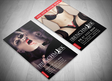Erotic business cards