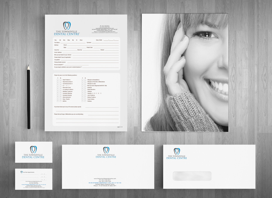 Gold Coast Logo, website and Letterhead and Stationary Design