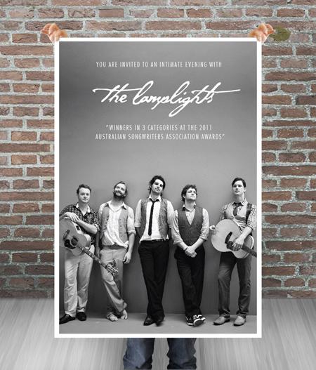 Band gig poster templates
