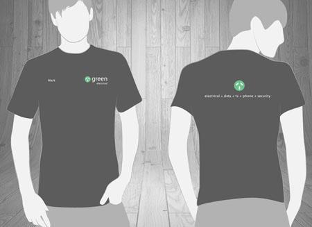 Electrical T Shirt Design | T Shirts Uniform Design Gold Coast Tweed Heads Work Wear T Shirts